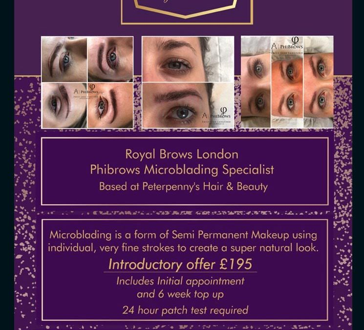 Royal Brows London to Peterpenny's Hair & Beauty
